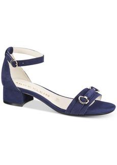 Anne Klein Esme Block-Heel Sandals