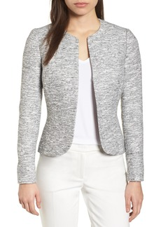 Anne Klein Etched Tweed Jacket