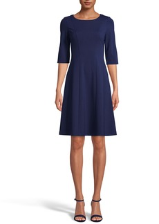Anne Klein Fit & Flare Dress