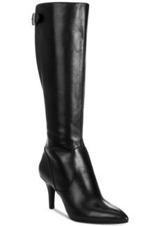 Anne Klein Fliss Wide-Calf Boots