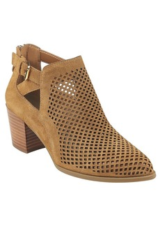 "Anne Klein® ""Gabs"" Block Heel Perforated Booties"