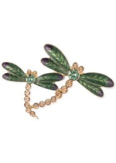 Anne Klein Gold-Tone Dragonfly Pin, Created for Macy's