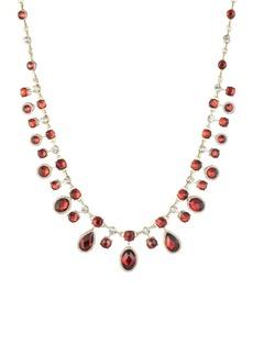 Anne Klein Goldtone Cubic Zirconia Collar Necklace