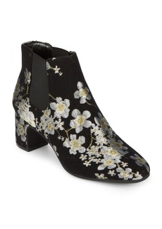 Anne Klein Gorgia Textile Booties