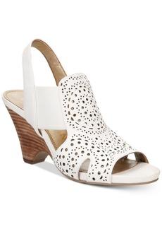 Anne Klein GrandP Slingback Perforated Dress Sandals