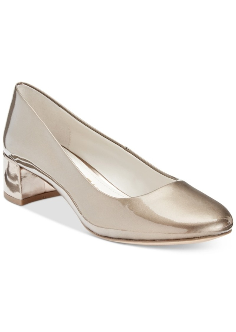 Anne Klein Hallie Block-Heel Pumps