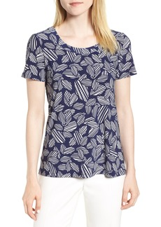 Anne Klein High/Low Tee