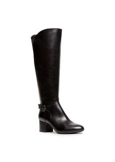 Anne Klein Honesty Wide Calf Buckle Boots
