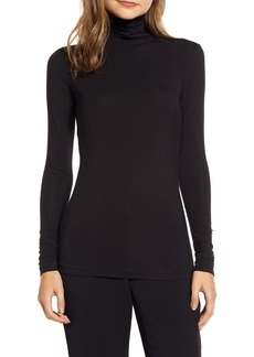Anne Klein Jersey Turtleneck Top