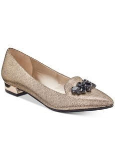 Anne Klein Kamy Pointed-Toe Slip-On Flats