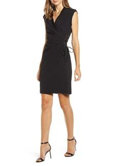 Anne Klein Lace-Up Side Sheath Dress