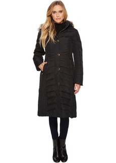 Anne Klein Long Snap Front Down