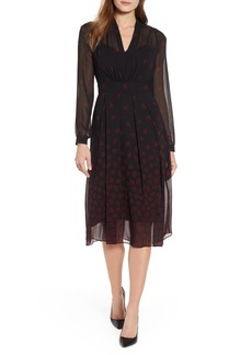 Anne Klein Margaux Faded Fit & Flare Dress