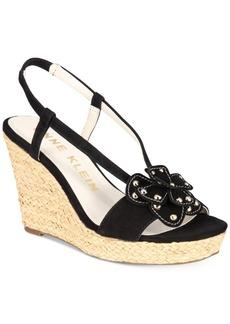 Anne Klein Marigold Espadrille Platform Wedge Sandals