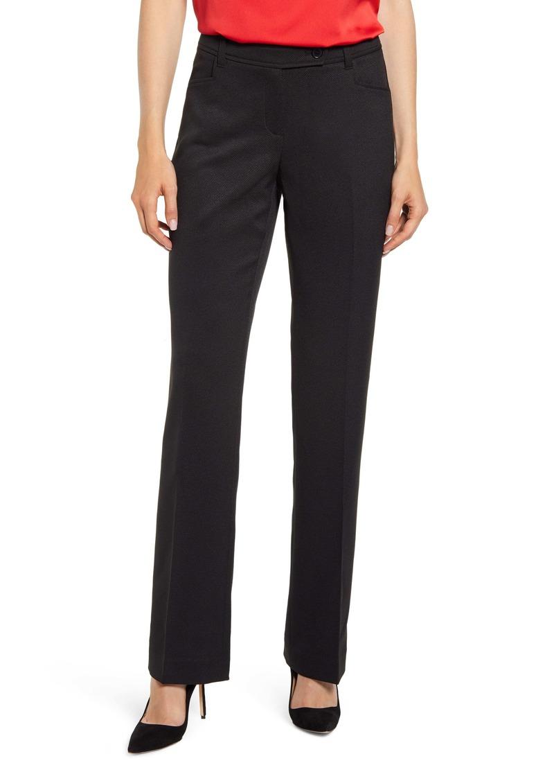 Anne Klein Mini Flare Leg Black Pants