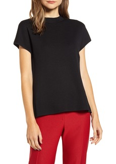 Anne Klein Mock Neck Dolman Sweater