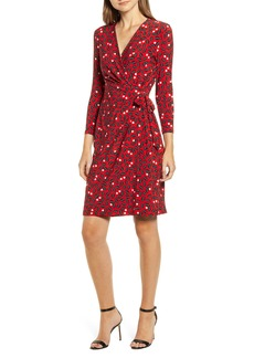 Anne Klein Muir Woods Faux Wrap Dress