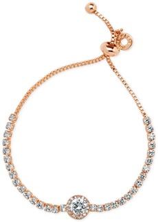 Anne Klein Multi-Crystal Slider Bracelet