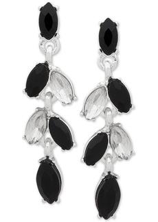 Anne Klein Multi-Stone Drop Earrings, Created for Macy's