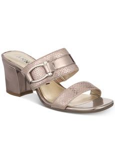 Anne Klein Natalie Slide-On Dress Sandals