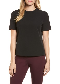 Anne Klein New York Crepe Button Back Top