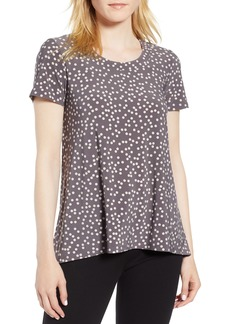 Anne Klein Dot Print High Low/Tee