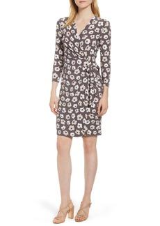 Anne Klein New York Floral Faux Wrap Dress
