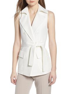 Anne Klein New York Tie Front Vest