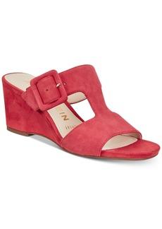 Anne Klein Nilli Slip-On Wedge Sandals
