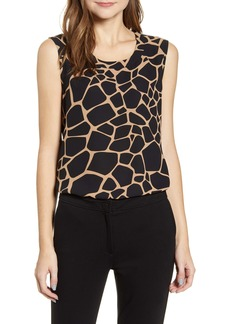 Anne Klein Nomad Print Sleeveless Top