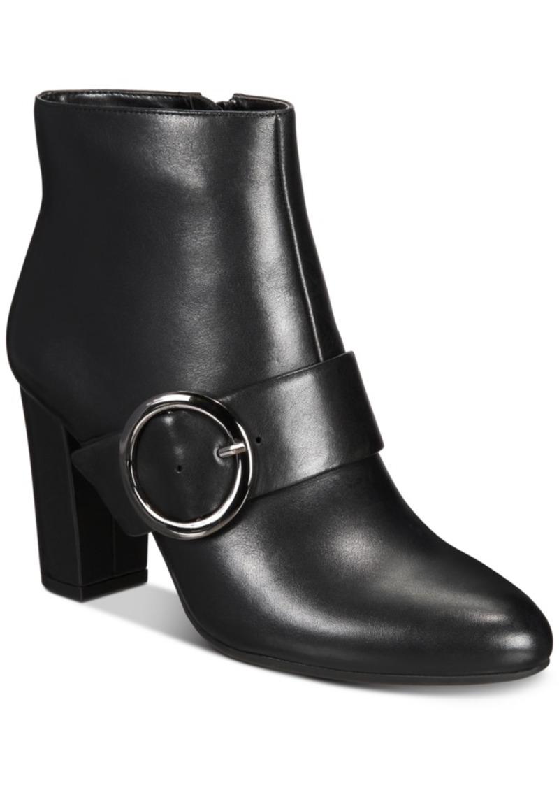 Anne Klein Novo iFlex Block-Heel Booties