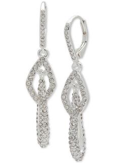 Anne Klein Pave Multi-Link Drop Earrings