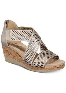 Anne Klein Pebbles Wedge Sandals