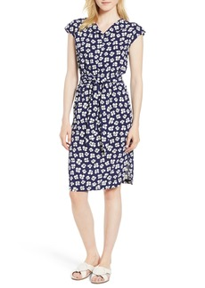 Anne Klein Petal Print Shirtdress