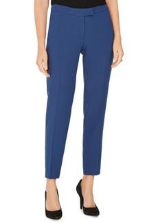 Anne Klein Pinstriped Tab-Waist Pants
