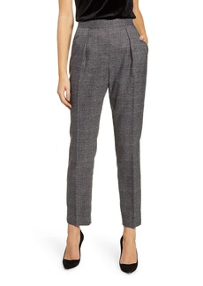 Anne Klein Plaid Straight Leg Pants