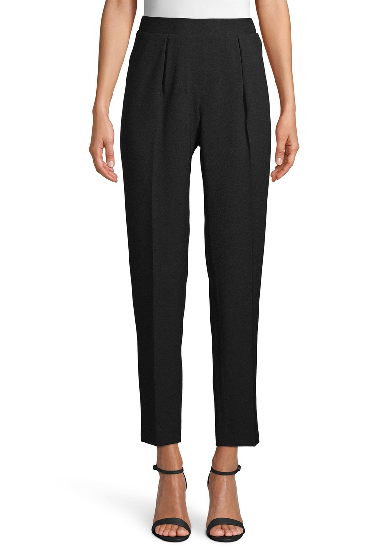 Anne Klein Pleat Front Pull-On Trousers