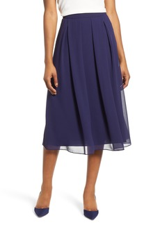 95ea8916dd Anne Klein Anne Klein Women s Inverted Pleated Skirt Fit and Flare ...