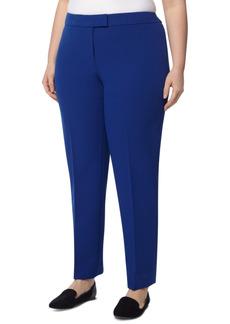 Anne Klein Plus Size Bowie Straight-Leg Pants