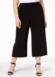 Anne Klein Plus Size Crepe Culottes