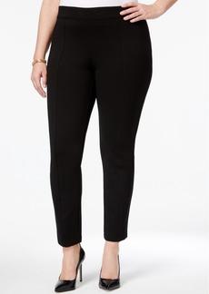 Anne Klein Plus Size Skinny Ankle Pants