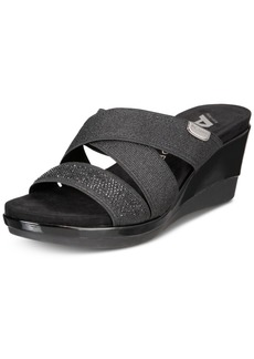 Anne Klein Polly Wedge Dress Sandals
