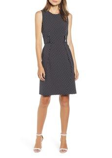 Anne Klein Posh Dot Sheath Dress