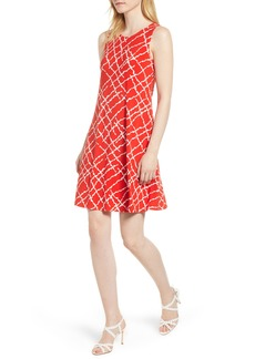 Anne Klein Print Swing Dress