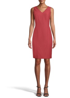 Anne Klein Ridge Crest Sleeveless Sheath Dress