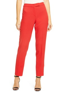 Anne Klein Ridge Crest Straight Leg Twill Pants