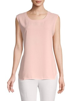 Anne Klein Roundneck Sleeveless Top