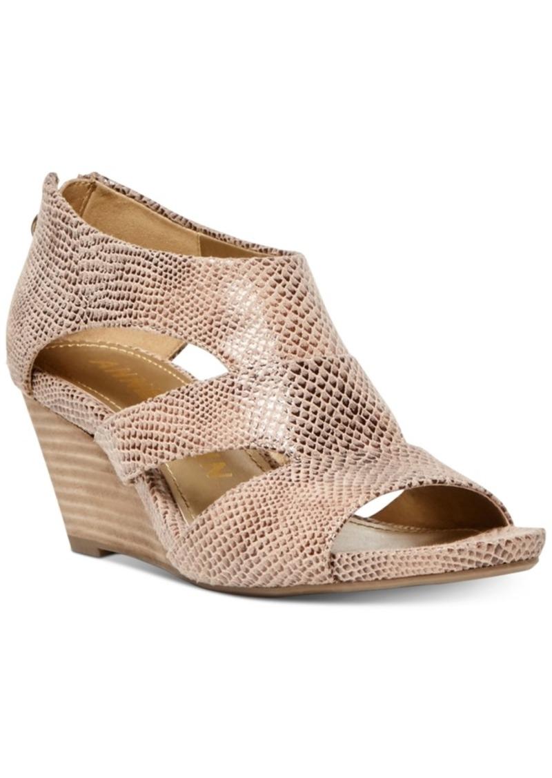 Anne Klein Salby Wedge Sandals