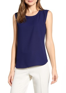 Anne Klein Scoop Neck Sleeveless Blouse