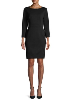 Anne Klein Scuba Sheath Dress